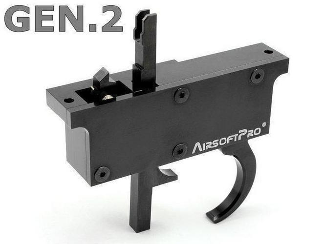 AirsoftPro CNC liipasinkonesto L96 mallisille tarkkuukivääreille, gen.2