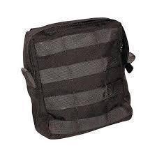 BLACKHAWK! S.T.R.I.K.E. Utility Pouch w/Zipper - Black (Poistotuote)
