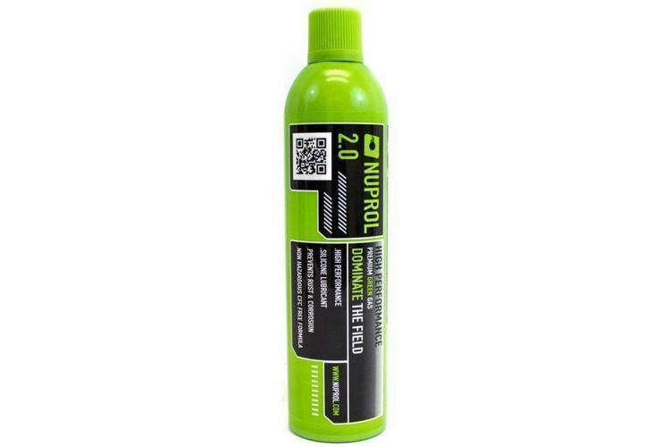 Nuprol 2.0 Premium Green Gas, airsoft-kaasu, 600ml