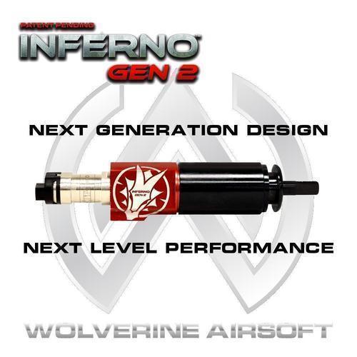 Wolverine Airsoft Inferno Premium V2 (GEN 2), M4 suutin