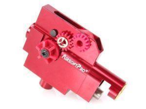 AirsoftPro SCAR-L CNC hop-up yksikkö MBLOCK ominaisuudella