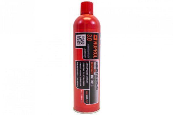 Nuprol 3.0 Extreme power red gas, airsoft-talvikaasu - 600ml
