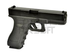 WE G Series 17 Gen. 3 GBB, metalliluisti – musta