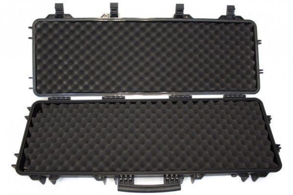 Nuprol Large Hard Case Wave, kovamuovinen aselaukku - musta