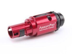 AirsoftPro alumiinen CNC hop-up yksikkö AUG sarjalaisiin