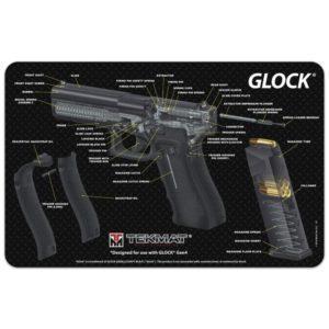 """Tekmat 17"""" puhdistus ja korjausmatto, Glock 3D"""