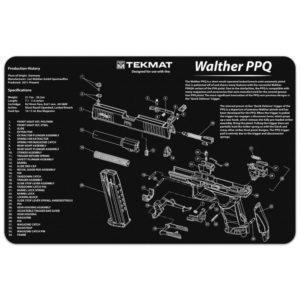 "Tekmat 17"" puhdistus ja korjausmatto, Walther PPQ"