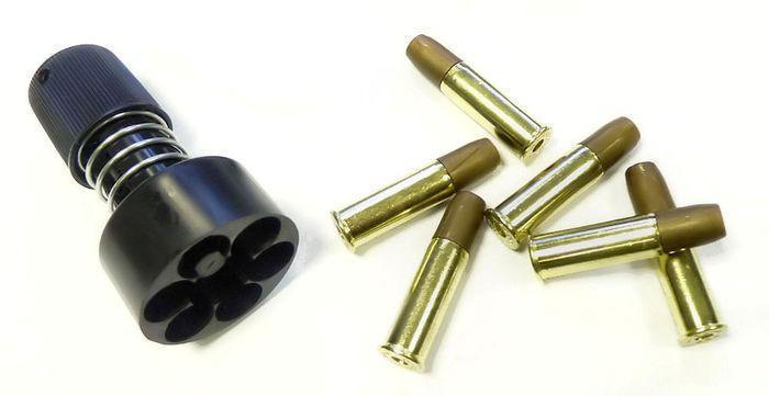 ASG Dan Wesson revolverin speedloader + hylsyt (6mm)