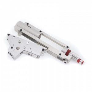 RetroArms 8mm Split CNC-rataslaatikko pikajousenvaihdolla ja hop-up kammiolla, versio 2