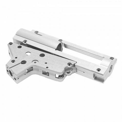 RetroArms CNC V2 Kaksiosainen rataslaatikko pikajousenvaihdolla (9mm) – hopea