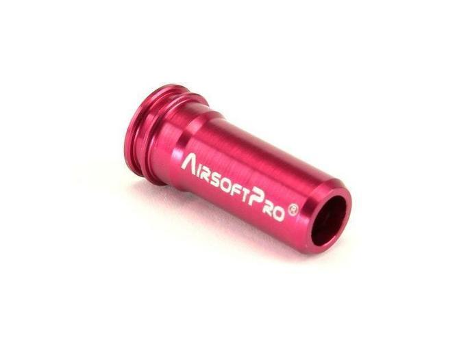 AirsoftPro alumiinine suutin M4/M16 (long) (22mm)