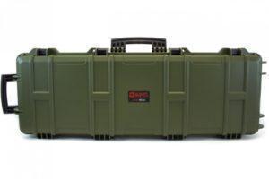Nuprol Large Hard Case Wave, kovamuovinen aselaukku - vihreä