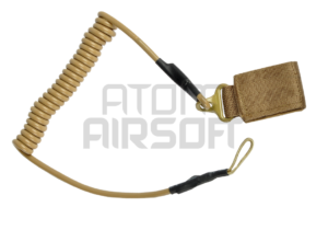 Pirate Arms Pistoolin varmistusnaru, lanyard – hiekka