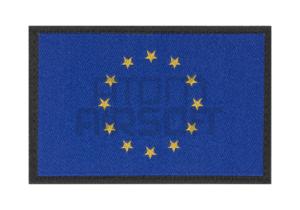 Clawgear EU lippu velcromerkki - sininen