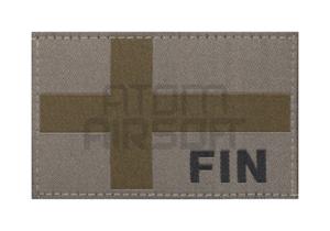 """Clawgear Suomen lippu """"FIN"""" leimalla - RAL7013"""