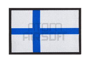 Clawgear Suomen lippu velcromerkki - sinivalkoinen