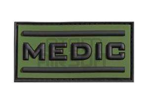 """JTG """"Medic"""" 3D velcromerkki - OD"""