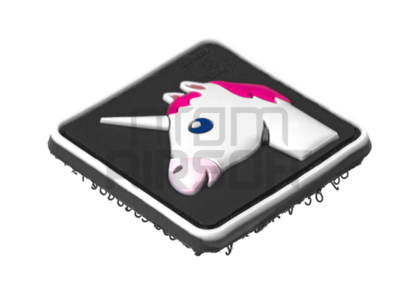 JTG Unicorn PVC velcromerkki