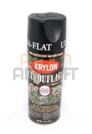 Krylon Spraymaali, musta