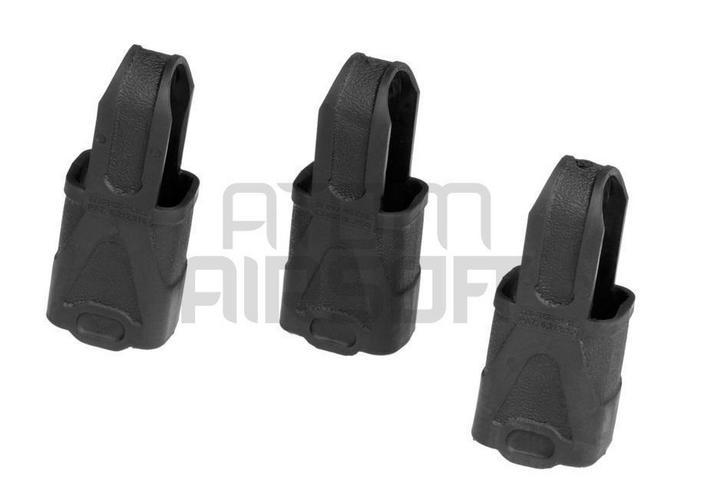 Magpul Magpul 9mm SMG lippaanvedin,3 kpl – musta
