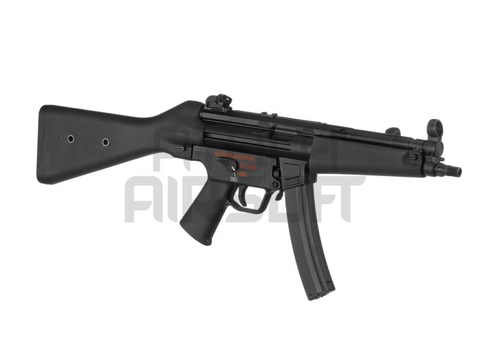 VFC H&K MP5 A4 V2 Mosfet Full Power, metallirunko - musta