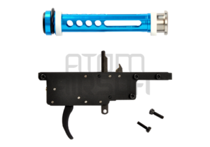 Action Army herkistetty liipasinkoneisto VSR-10, S-Trigger