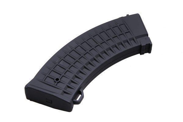 Cyma AK vohvelikuvioitu mid-cap lipas,150 kuulaa - musta