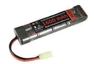 GFC Energy 1600mAh 10.8V NiMh viritysakku - miniliitin