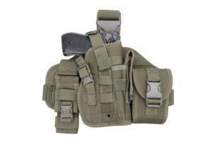 GFC Tactical Modulaarinen reisipaaneli pistooliholsterilla - OD