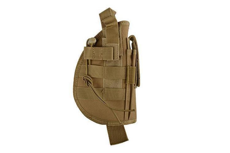 GFC Tactical Universaali MOLLE-pistoolikotelo - kojootin ruskea