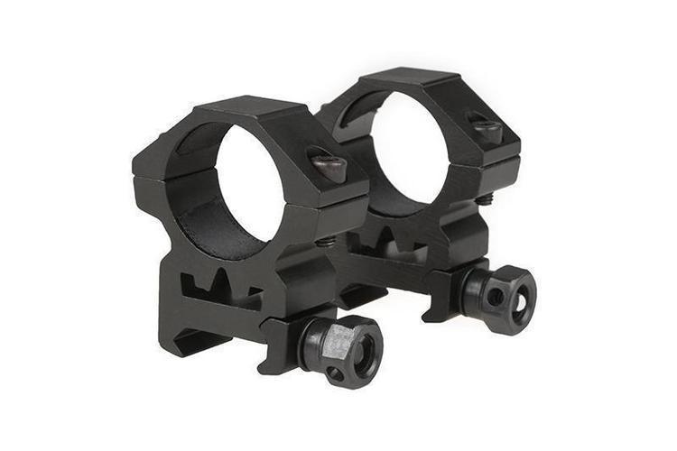 Theta Optics 25mm tähtäinrenkaat RIS kiskoon (matala)