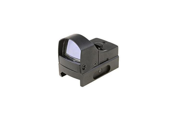 Theta Optics™ Micro puna-/viherpistetähtäin - musta