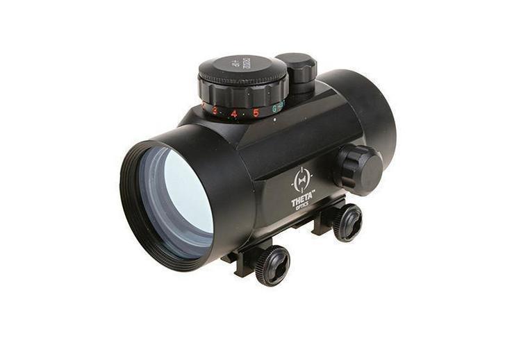 Theta Optics™ Reflex punapistetähtäin 1x40 – musta