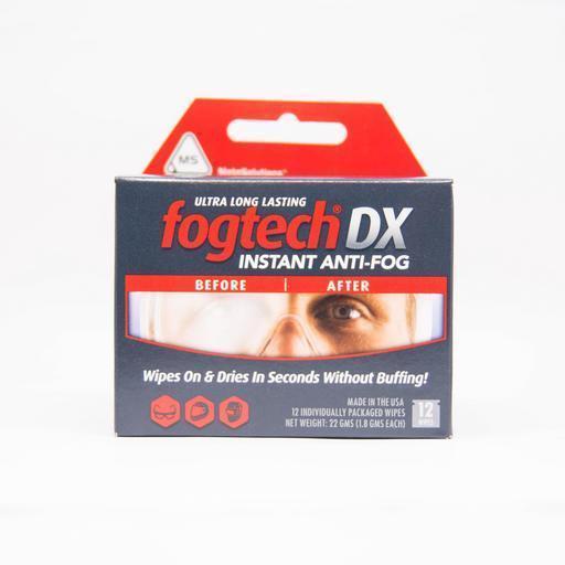12x Fogtech®DX Instant Anti-Fog, huurteenestoliina pakkaus