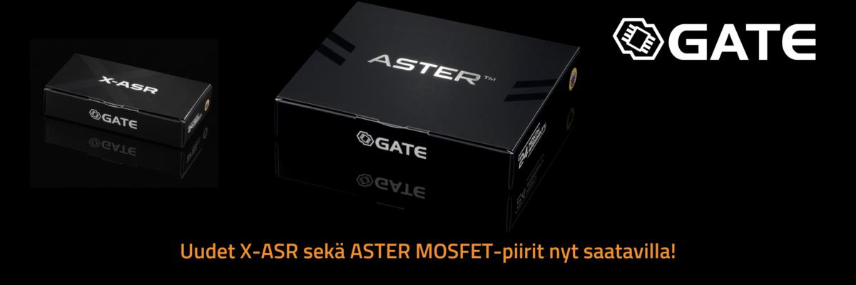 ASR-X ja ASTER MOSFET-piirit