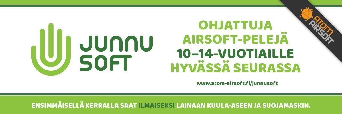 Junnusoft - Airsoft junioritoimintaa järjestetään kerran viikossa Hämeenlinnassa. Junnusoftin periaate on liikkua ja pitää hauskaa yhdessä.