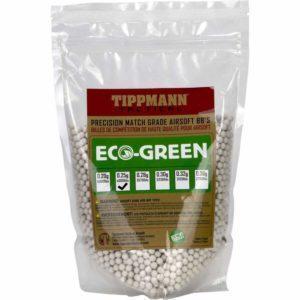 Tippmann Tactical 0,25g ECO biokuula (4000kpl/1kg) - valkoinen