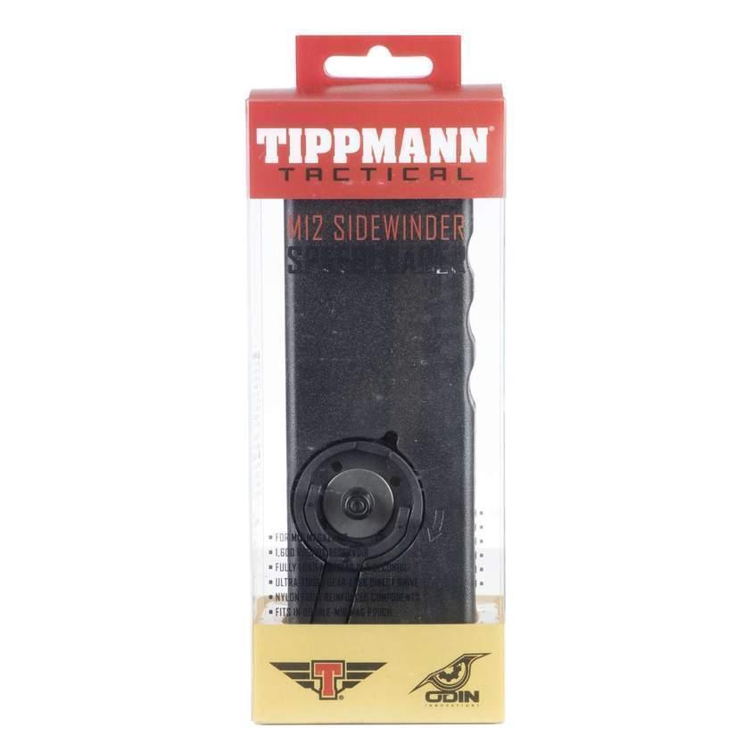 Tippmann Tactical Odin M12, rullattava lippaanlataaja - musta