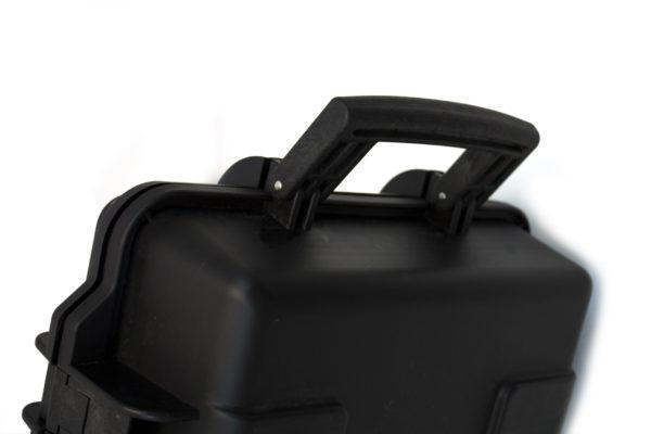 Nuprol XL Hard Case Wave, kovamuovinen aselaukku - vihreä