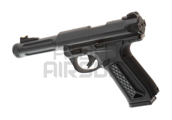 Action Army AAP-01 kaasupistooli, kertatuli/sarjatuli - musta