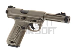 Action Army AAP-01 kaasupistooli, kertatuli/sarjatuli - hiekka